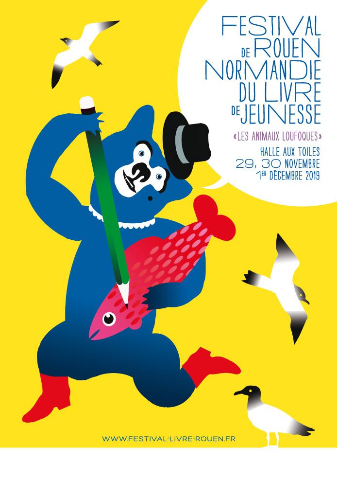 Accueil Festival Du Livre De Jeunesse Rouen